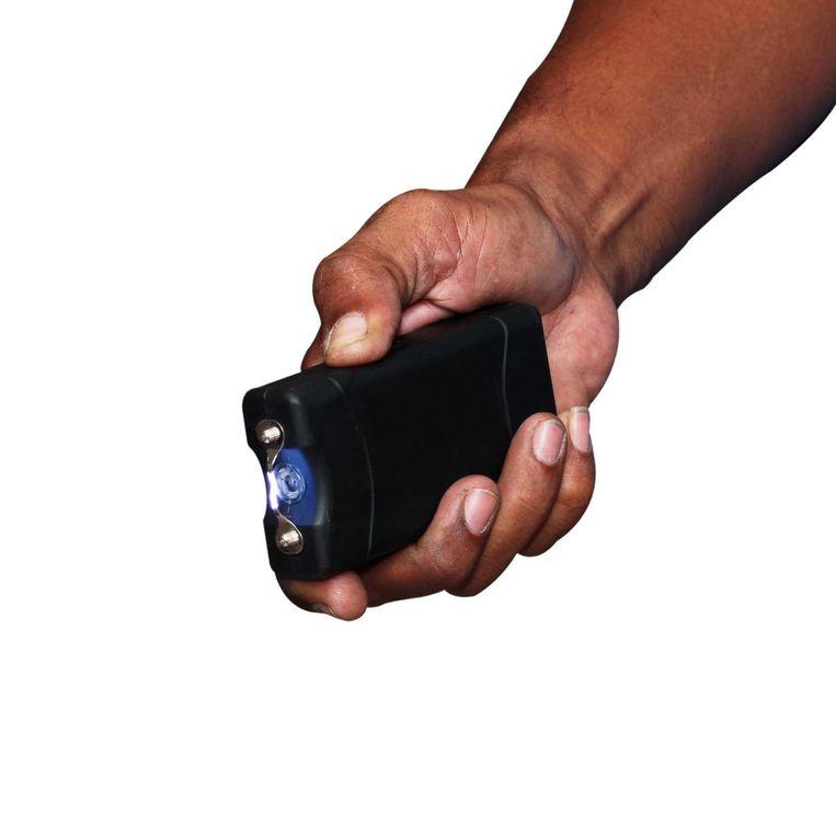 Een 'taser', een stroomstootwapen. (archieffoto)