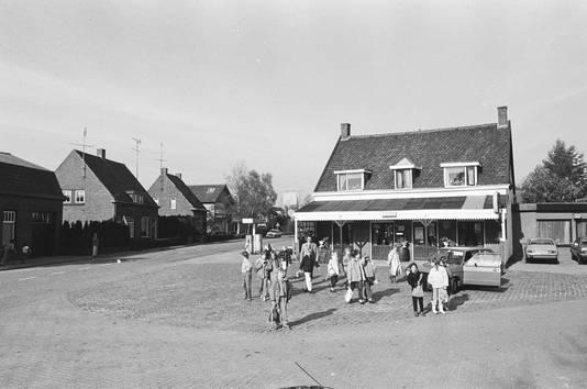 Het café van Leentje Leijten in Galder