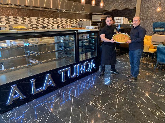 A La Turqa net na de opening.