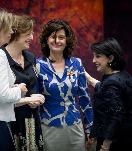 Lintje voor Anouchka van Miltenburg bij vertrek uit Tweede Kamer