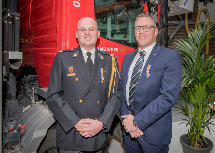 Martin van Gilst (links) en Jaap Vasseur.