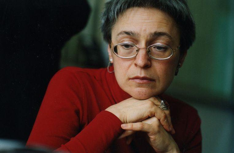 Vlak voor haar dood was Politkovskaja bezig met een onderzoek naar ontvoeringen die onder de verantwoordelijkheid van de Tsjetsjeense president Ramzan Kadirov zouden plaatshebben. Foto GPD Beeld