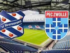 Heerenveen - PEC Zwolle