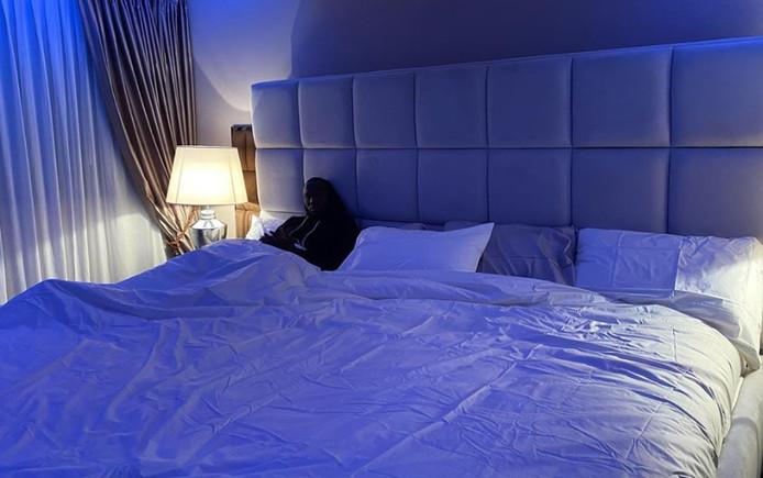 Romelu Lukaku dans son nouveau lit