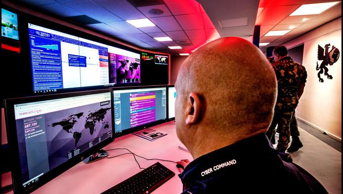 In de control room wordt alles nauwgezet in de gaten gehouden