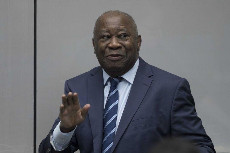 De voormalige president van Ivoorkust, Laurent Gbagbo.
