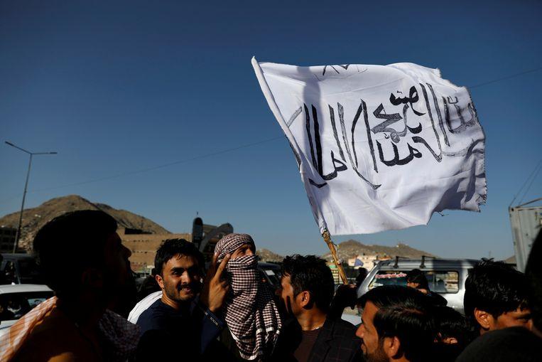 Archieffoto - Enkele aanhangers van de Taliban in Afghanistan.