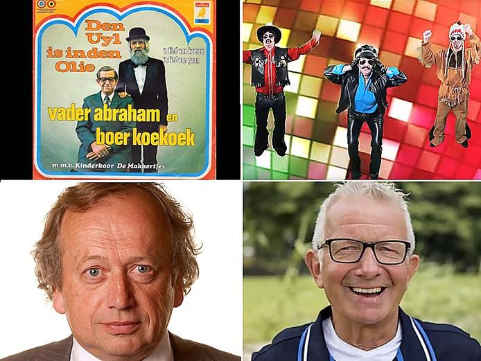 Carnaval nummers met Den Uyl, Hoes, Bleker en boer Geert