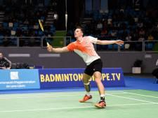Badmintonners komen in EK-finale te kort tegen Denemarken