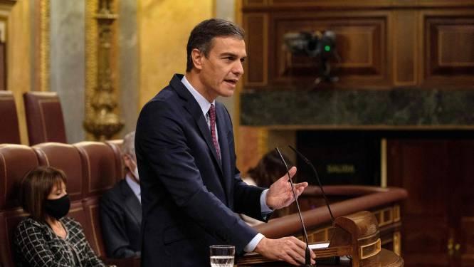 Spaanse premier Sánchez behoudt het vertrouwen van het parlement