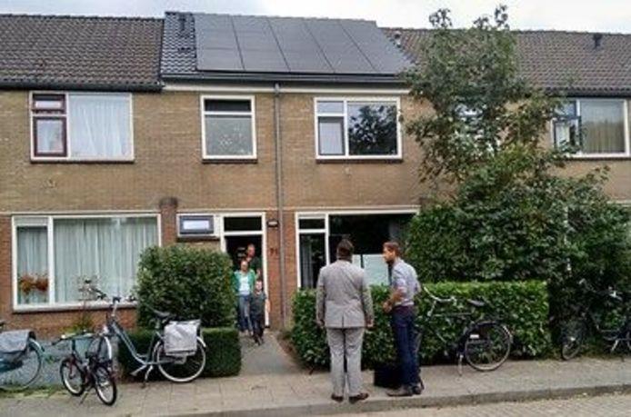 De proefwoning van Uwoon in de Kievitstraat in Ermelo.