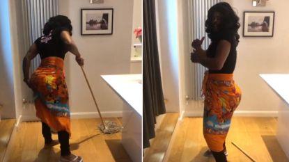 Zo gek als een achterdeur: 'kuisvrouw' Evra slaat weer toe op Instagram