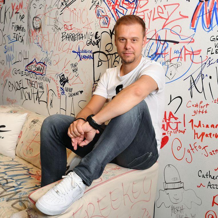 Armin van Buuren: 'Mijn hart ligt bij trance, maar als ik alleen nog dat zou maken, zou ik voor mijn gevoel stilstaan. Beeld Getty Images