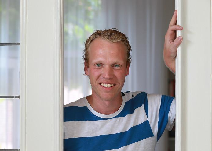 Graafschap-supporter Sjoerd Weikamp.