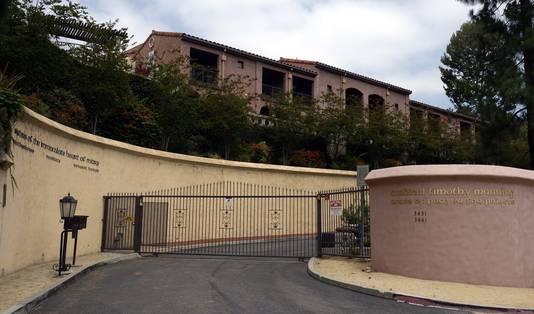 Het voormalige klooster in de Los Feliz-buurt in Los Angeles.