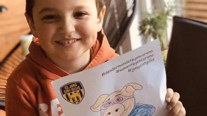 Jong Sint-Gillis lanceert Knorrie-zoektocht