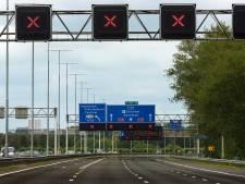 Boete voor tien bestuurders na negeren rood kruis