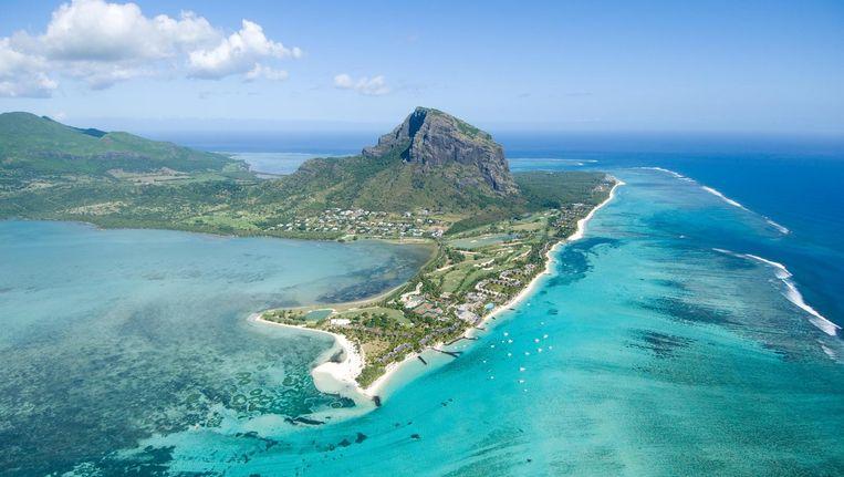 Mauritius rust volgens de onderzoekers op de resten van een oeroud, gezonken continent.