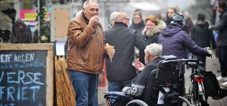 Frites tegen de kou tijdens Winterfair in Renkum