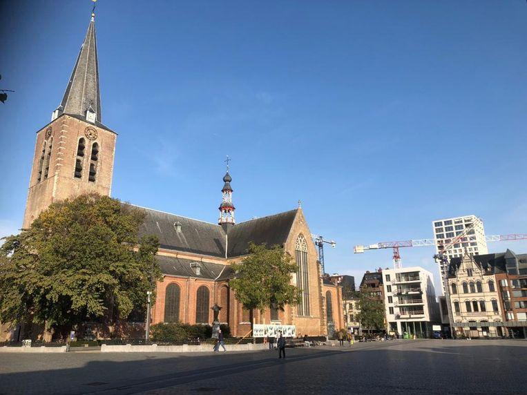 De Sint-Pieterskerk op de Grote Markt