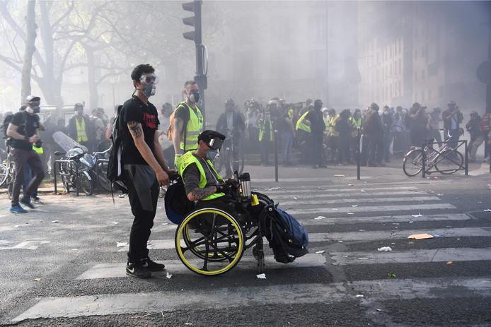 De Gele Hesjes gaan door met hun protesten in Parijs. Vandaag waren er ruim 100 arrestaties.
