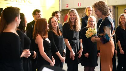Koningin Mathilde bezoekt Lemmensinstituut
