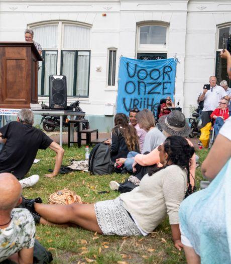 De zucht naar vrijheid groeit; dat bindt al die verschillende demonstranten in Enschede