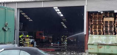 Politie stuit op trailers bedoeld voor hennepkwekerij na brand in Nijmegen
