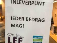 Leerlingen Carmel College Salland zamelen ruim 8000 euro in voor stichting LEF