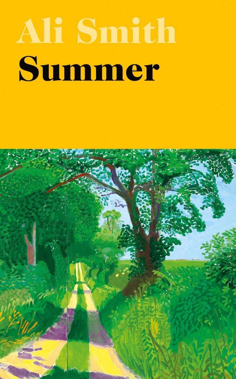 Ali Smith: Summer. Omslag David Hockney, Richard Bravery, 2020. Beeld Penguin/Hamish Hamilton