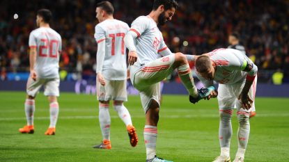 'Eviva España': Spanje vernedert WK-finalist Argentinië met ontketende Isco: 6-1!