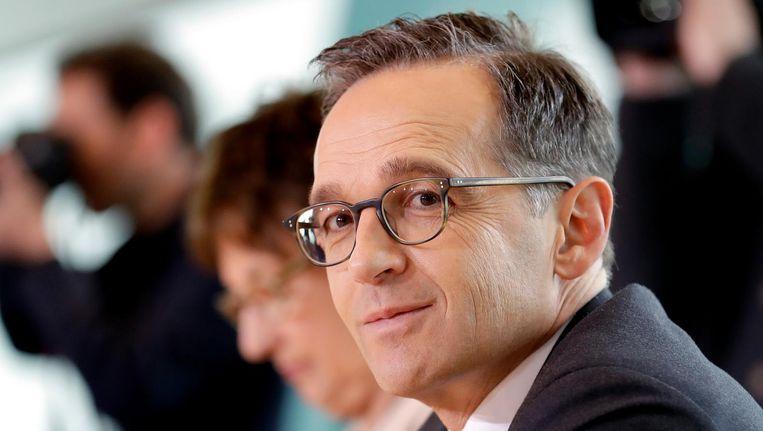 Heiko Maas, Duitse minister van Justitie. Beeld ap