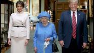 Wie wil er naast Trump zitten? Britse prominenten hebben geen zin in staatsbanket