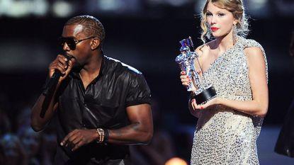 """Kanye West onder vuur na gelekt telefoongesprek met Taylor Swift: """"Hij heeft al die tijd gelogen"""""""