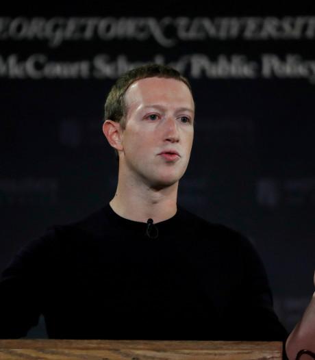 Zuckerberg verdedigt 'zijn' Facebook als 'bastion van vrije meningsuiting'