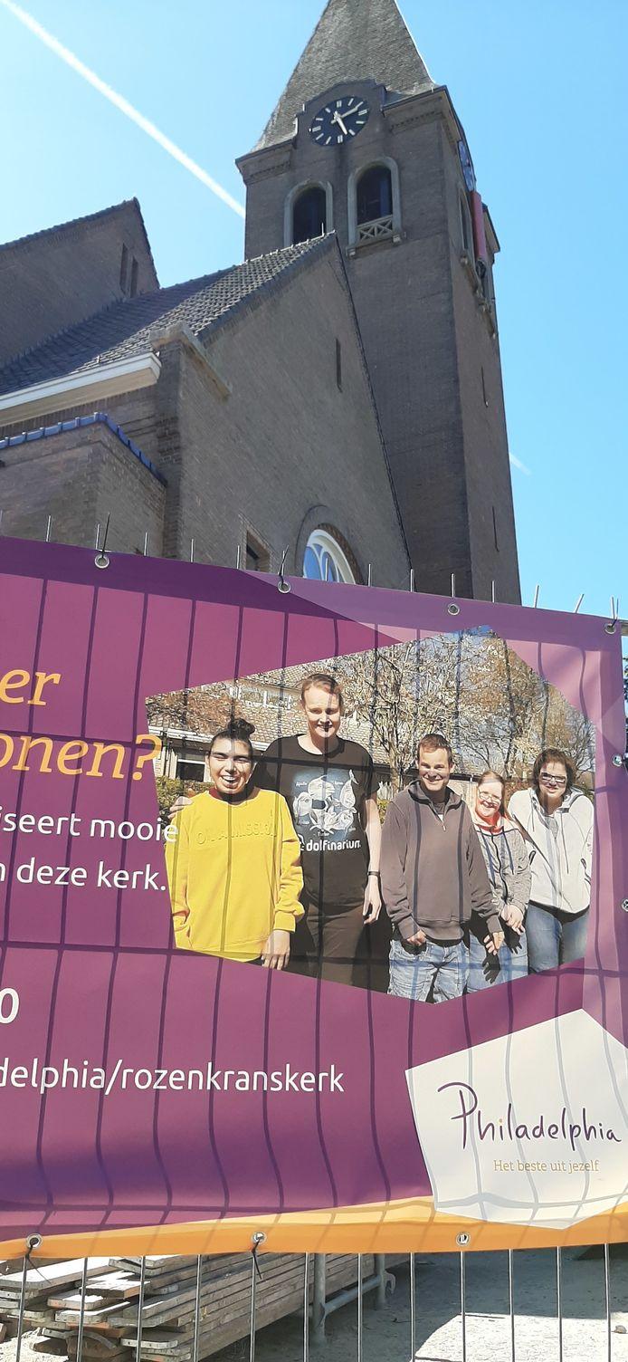 Philadelphia vangt in de oude Boschwegse kerk in Schijndel straks 33 bewoners met een (licht) verstandelijke beperking op.