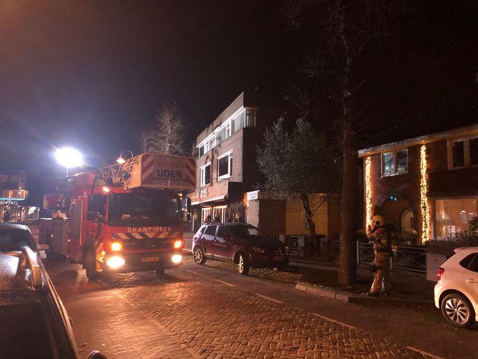 De brandweer hoefde gelukkig niet te blussen bij restaurant De Sirenes.
