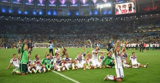 Duitsland met de wereldtitel in 2014.
