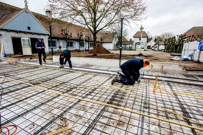 De renovatie van De Voorste Venne in Drunen is in volle gang.