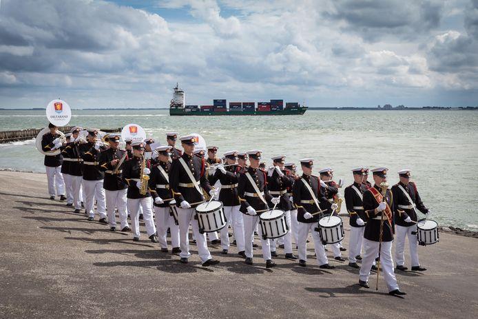 Deltaband Vlissingen is een van de deelnemers aan de Taptoe op 26 oktober in Bergen op Zoom.