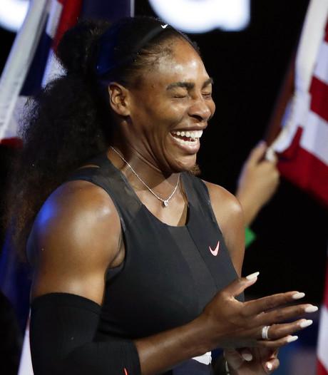 Serena Williams denkt al aan Australian Open