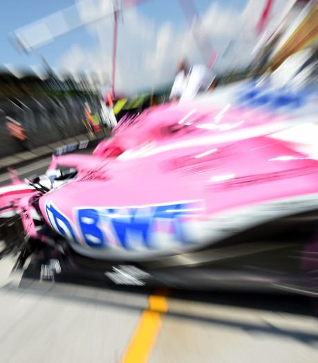 Force India gered door vader van Lance Stroll