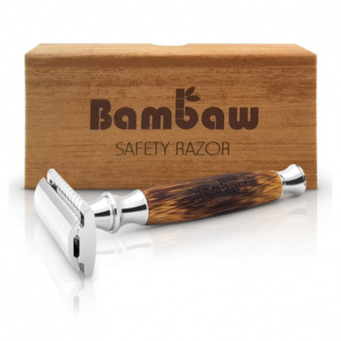Rasoir de sureté Bambaw. Prix standard 22,36 €. Prix avec l'abonnement 16,77 €