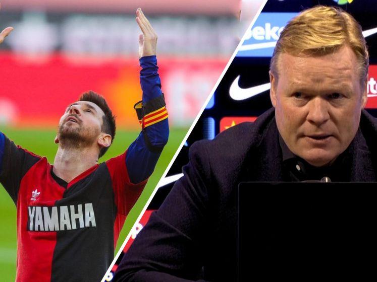 Koeman: 'Messi dacht veel na over eerbetoon aan Maradona'