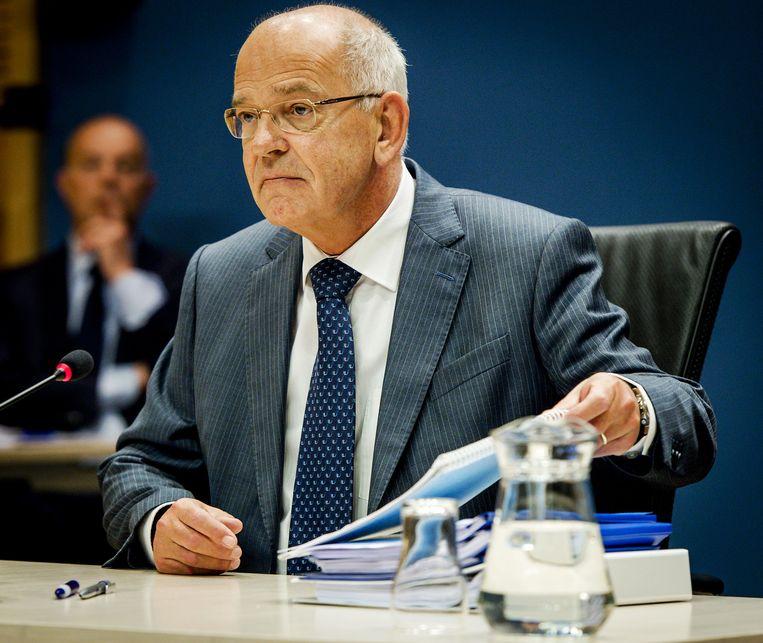 Gerrit Zalm, bestuursvoorzitter ABN Amro. Beeld null