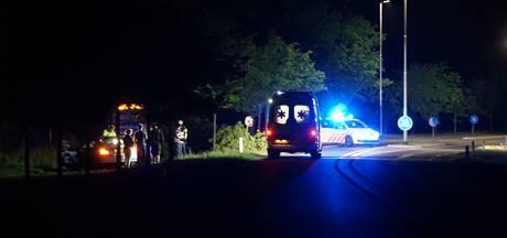 Auto knalt op boom tussen Hengevelde en St. Isidorushoeve, bestuurder gewond