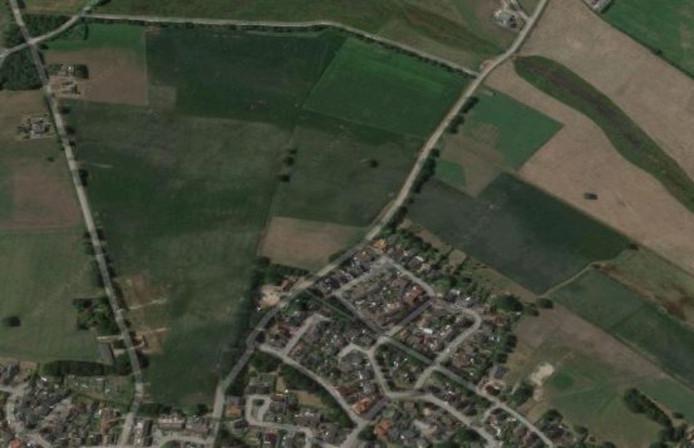 In de driehoek Geskesdijk-Trippenweg-Keizersdijk en gedeeltelijk links en rechts van beide 'dijken' wordt wellicht over een jaar of zes gebouwd.