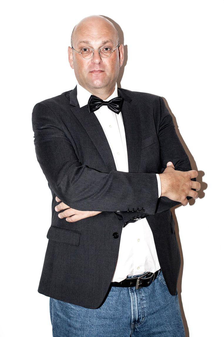 Schuimverslaggever Hans van der Beek Beeld Schuim