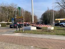Verkeerslichten op druk kruispunt hersteld na dagenlange hinder door ongeval