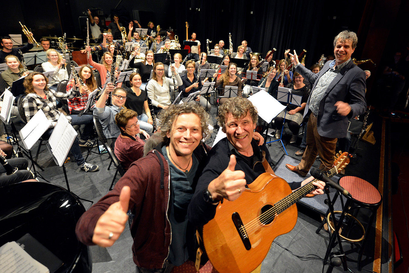 Twents Orkest Brengt Gé Reinders En Syb Van Der Ploeg Samen